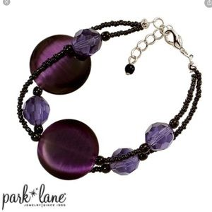 Park Lane Purple Rain Bracelet, New